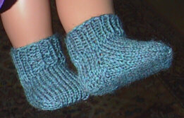 Basic anklet socks for the American Girl doll