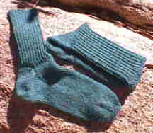 You're Putting Me On! Socks from the toe up